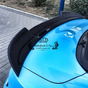 High quality carbon fiber / FRP  rear wing torso lip spoiler for Ford Mustang 2015 2016 2017