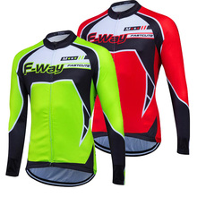 2017 FASTCUTE Long Sleeve Cycling Jersey Autumn/ Spring Thin Cycling Clothing Shirts/Jacket Maillot Men Bike Clothes Many Models