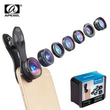 Wide-Angle-Lens Fish-Eye/macro-Lens Kaleidoscope Camera-Lens-Kit Phone APEXEL Xiaomi