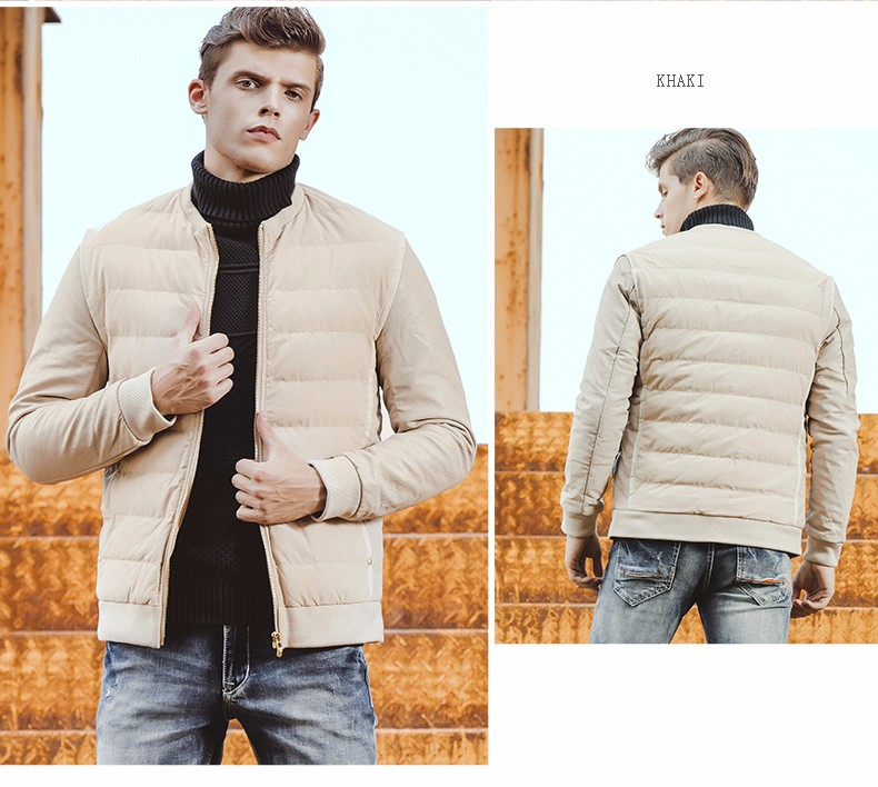 ФОТО   Winter Jacket Men Cotton Coats Zipper Brand 2017 new Mens Cotton Jacket Casual Thick Outwear Size 3XL