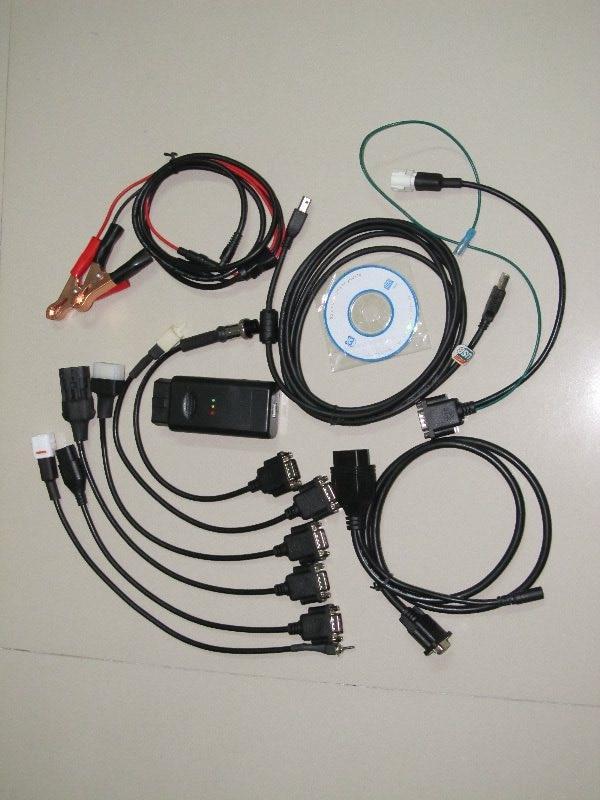 инструмент мотоцикла диагностический сканирования 6 в 1 Для Ямаха,сим,kymco и,ХТФ,ПГО для мотора Suzuki сканер 2 года гарантии