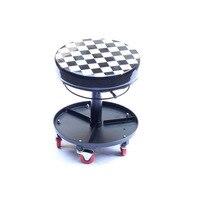 Auto wrap toepassing kleine zetel, verstelbare hoogte referentie sooper stoelen Atmosferische Perssure Swivel Stoel met wielen MX-602