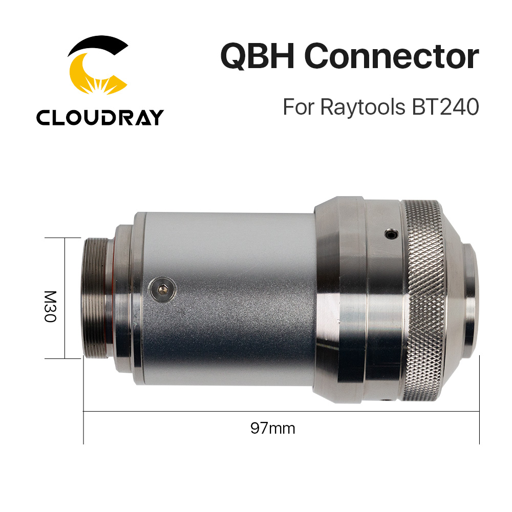 BT240S Fiber Machine Cloudray Of BT240 Laser Laser Raytools 1064nm Connector Head For Cutting QBH