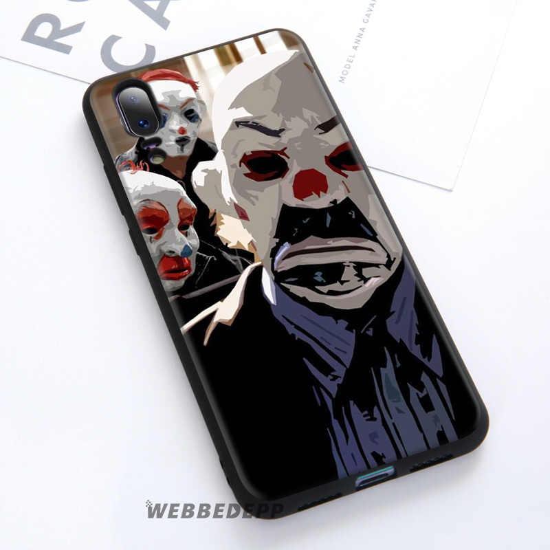 WEBBEDEPP Caballero Joker Batman suave caso de Huawei P30 P20 Pro P10 P9 Lite 2017 P Smart 2019 y Nova 3 3i Y9 2019