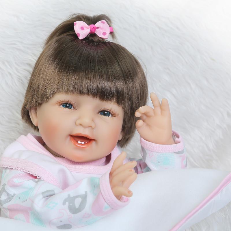 Doll Baby D096 55CM 22inch NPK Doll Bebe Reborn Dolls Girl Lifelike Silicone Reborn Doll Fashion Boy Newborn Reborn Babies