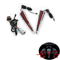 Motorcycle Saddlebag LED Lights Rear Brake Accents Lamp For Victory Cross Country Tour 2010 2011 2012 2013 2014 2015 2016