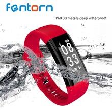Fentorn F09HR IP68 Водонепроницаемый Фитнес трекер smart Сердечного ритма Приборы для измерения артериального давления Мониторы умный Браслет Спорт Смарт Браслет