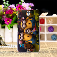 Cartoon Yellow Minions Mobile Phone Cases For Lenovo Vibe S1 S1C50 S1A40 5.0 Covers Housing Skin Shell Hood Flexible Rubber Bags