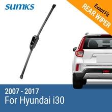 SUMKS Rear Wiper Blade for Hyundai i30 2007 2008 2009 2010 2011 2012 2013 2014 2015 2016 2017