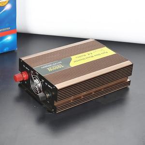 Image 5 - 1000 watt solar inverter pure sine wave dc 12v 24v 1000w inverter 1kw solar 220v ac car power inverter