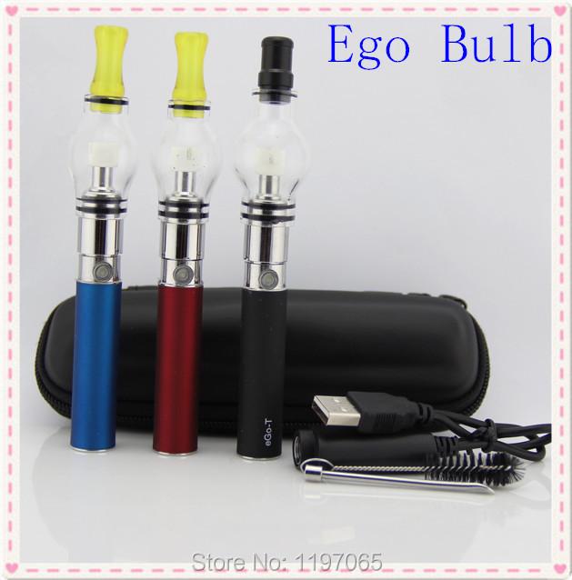 Globo de vidro EGO cigarro eletrônico cigarro e erva seca cera globo de vidro atomizador cera vaporizador EGO - t