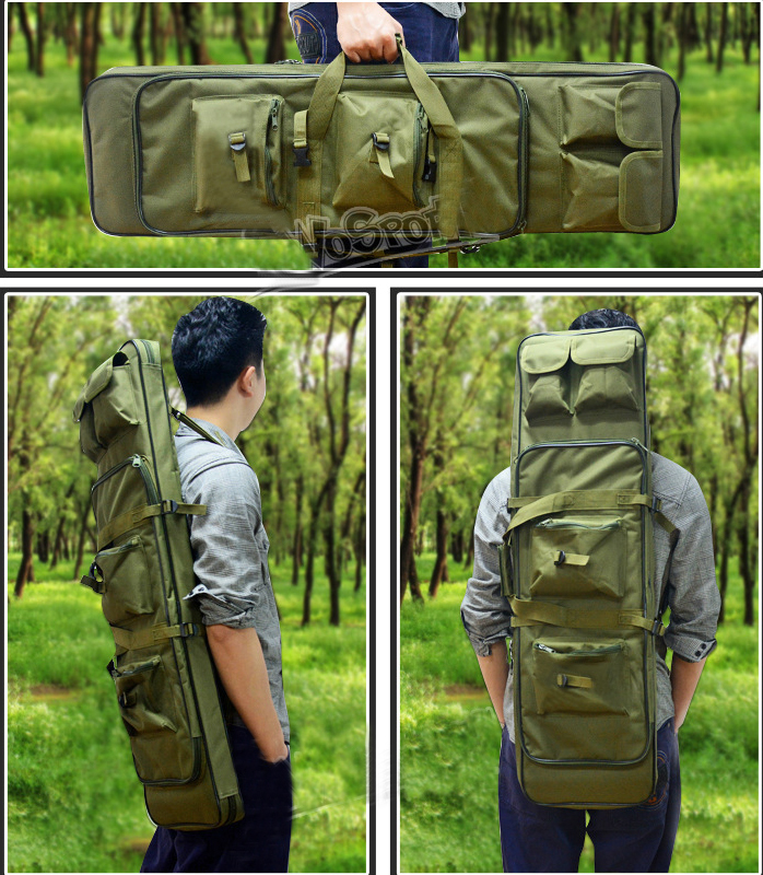 Outdoor Hunting Backpack Bags Multi-function Military Tactical Riflescope Pack Carry Bag Protection Case Hunting Gun Accessories 120cm 47 outdoor military tactical hunting gun bag riflescope pack square carry bag protection case hunting gun accessories