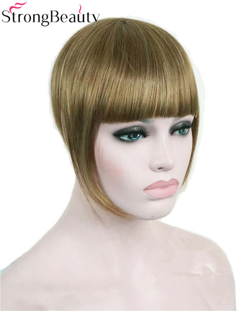 Strong Beauty Synthetic Women Short Blonde Brown Black Gold Front