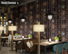 beibehang American style retro Industrial Wind Gear wall paper decoration net cafe cafeteria PVC papel de parede 3d wallpaper стоимость