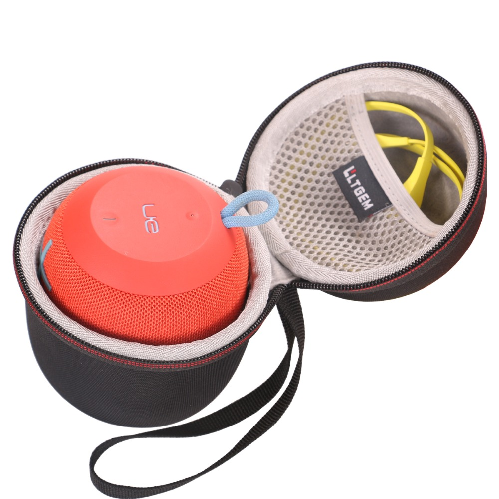 LTGEM EVA Hard Case For Ultimate Ears WONDERBOOM Super Portable Waterproof Bluetooth Speaker - Travel Protective Carrying Storag