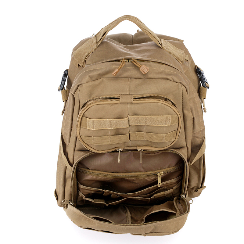 Hot Sale Men Outdoor Style Miliatry Camo Camping Bag Patrol 3 Day Tactical  Molle Camel Pack Assault Camoflaage Backpack-in Hunting Bags from Sports ... dc1b83cdaa