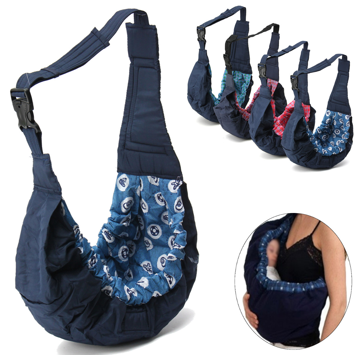 infant baby sling for newborn carrier bag sling wrap swaddling babys backpack suspenders classic kids nursing wrap pouch