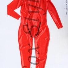 Латексный комбинезон с сексуальным капюшоном и носками полный Чехол резиновый боди красного цвета для мужчин лиса стиль с cod штук с отверстием на пенис