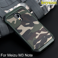 Hot Meizu M3 Note Case 2 In1 Army Camo Camouflage Pattern PC TPU Armor Anti Knock