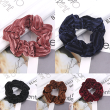 LNRRABC 1PC Korean fashion velvet hair band soft wide-brimmed ponytail girl accessories plate artifact comfortable gifts