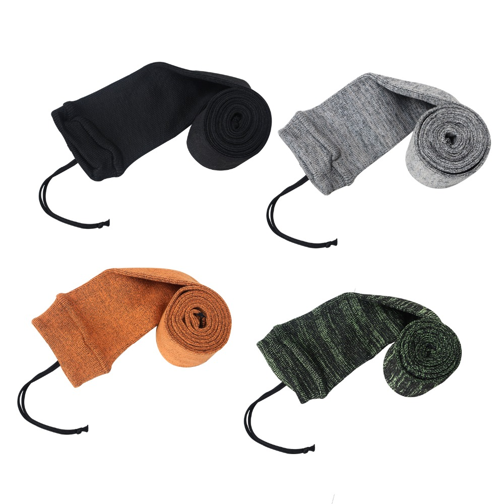 Tourbon Silicone Treated Shotgun Knit Socks Rifle Firearm Sock Gun Cover Case for Shooting Hunting Gun