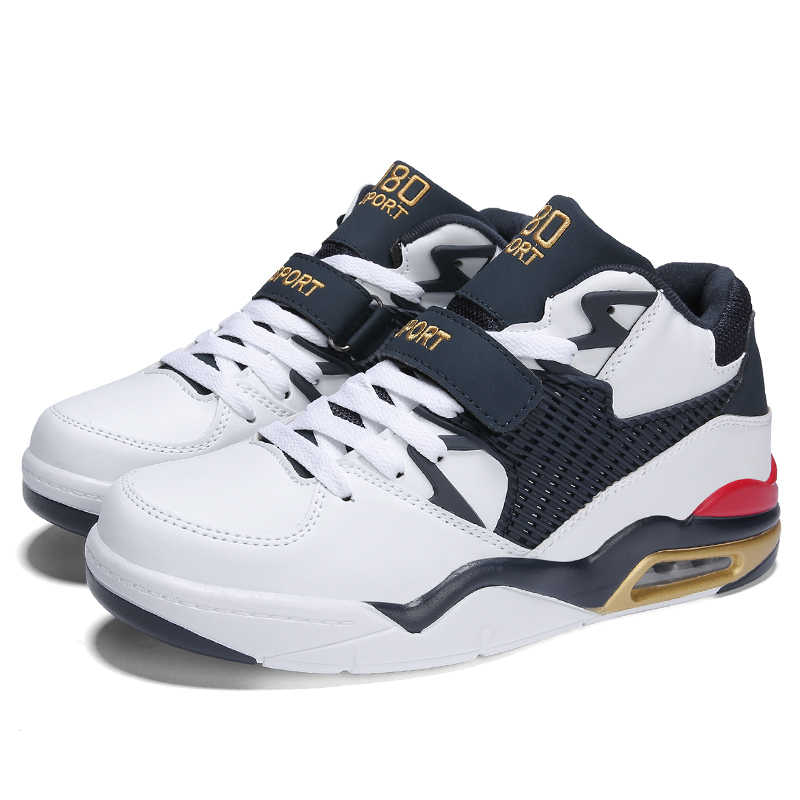 55b7eac37cf4fc ... 2019 New High-top Basketball Shoes Men s Breathable Cushioning Training Basketball  Sneakers Professional Basket Homme
