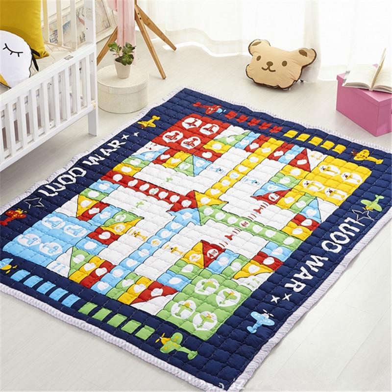 Baby child rug blanket bears 2.5cm skidproof yoga 150*200cm cartoon playmat floormat picnic mat boys girls game carpet flannel skidproof wood grain print rug page 7