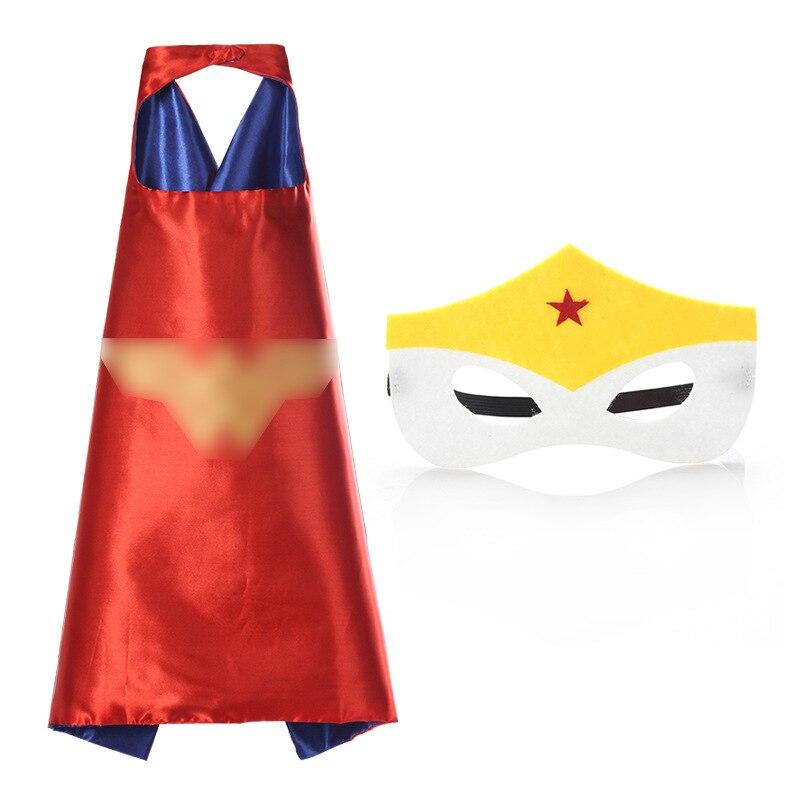Superhero Cartoon Mask Toy Cosplay Mask&Cloak Jouet Les Marve Anime Connor Greg Amaya Children Christmas Party Brinquedos Gift