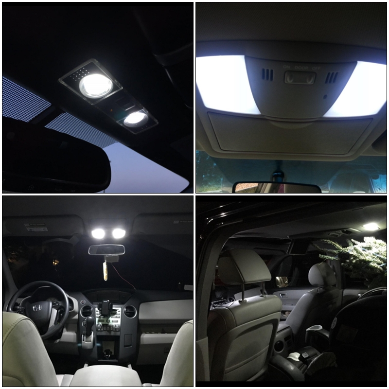 7pcs Xenon White Canbus Led Light Bulbs Interior Package Kit For Ford Ranger 1998 2017 Dome License Plate Replace Bulb In Signal Lamp From Automobiles