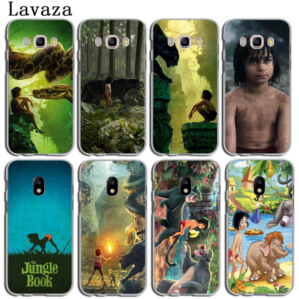 Lavaza The Jungle Book Phone Shell Cover Case for Samsung Galaxy J3 J1 J2 J7 J5 2015 2016 2017 J2 Pro Ace J5 J7 Prime Case