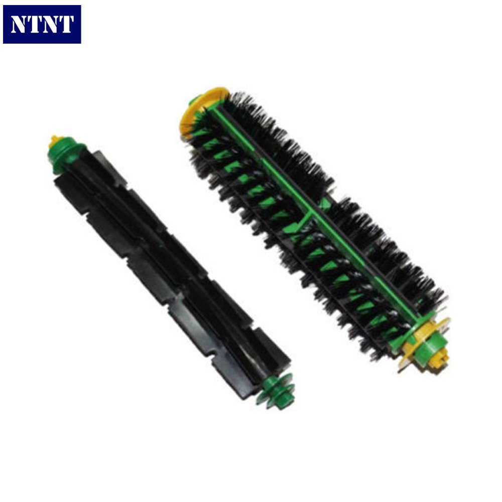 NTNT Free Post New Bristle Brush + Flexible Beater Brush for iRobot Roomba 500 Series Green накладной светильник pl 991 20 cu helios