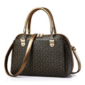 NEWS! All ten colors are available 2016 fashion print floral desinger bags  women Shoulder bags OL Style women bag
