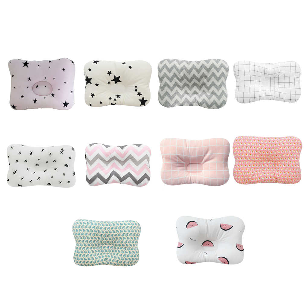 Детская форменная Подушка, предотвращающая плоскую головку, детские постельные принадлежности, подушки для новорожденных мальчиков и девочек, детская подушка для сна, подушка для новорожденных детей