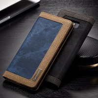 Magnetic Flip Cover Case For Samsung Galaxy S6 S6 Edeg S6Edge Plus PU Leather Luxury Phone