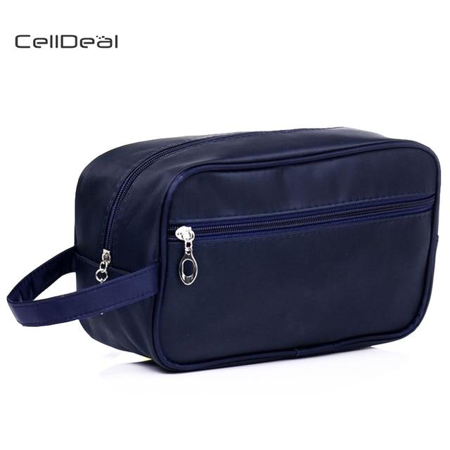 CellDeal Brand New 3 Colors Elegant Men s Fashion Shaving Bag Dopp Kit  Nylon Toiletry Bag Travel Wash Makeup Bags Storage Bag 0c4285ba74