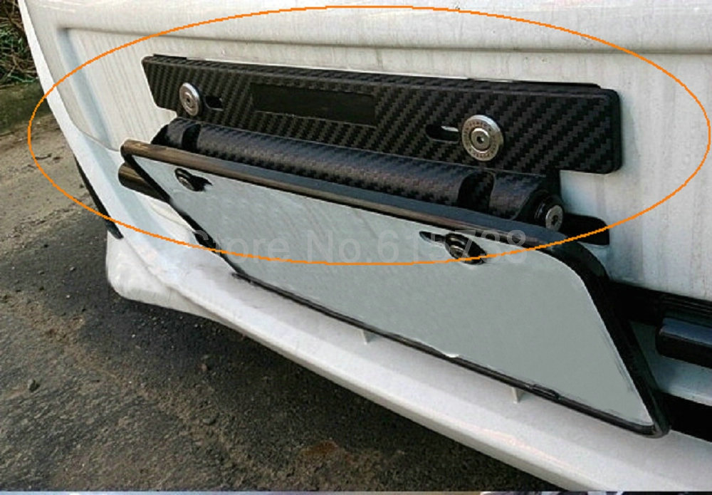 BlackCarbon Fiber Fiber- ի կարգավորելի համարը - Ավտոմեքենայի արտաքին պարագաներ - Լուսանկար 6