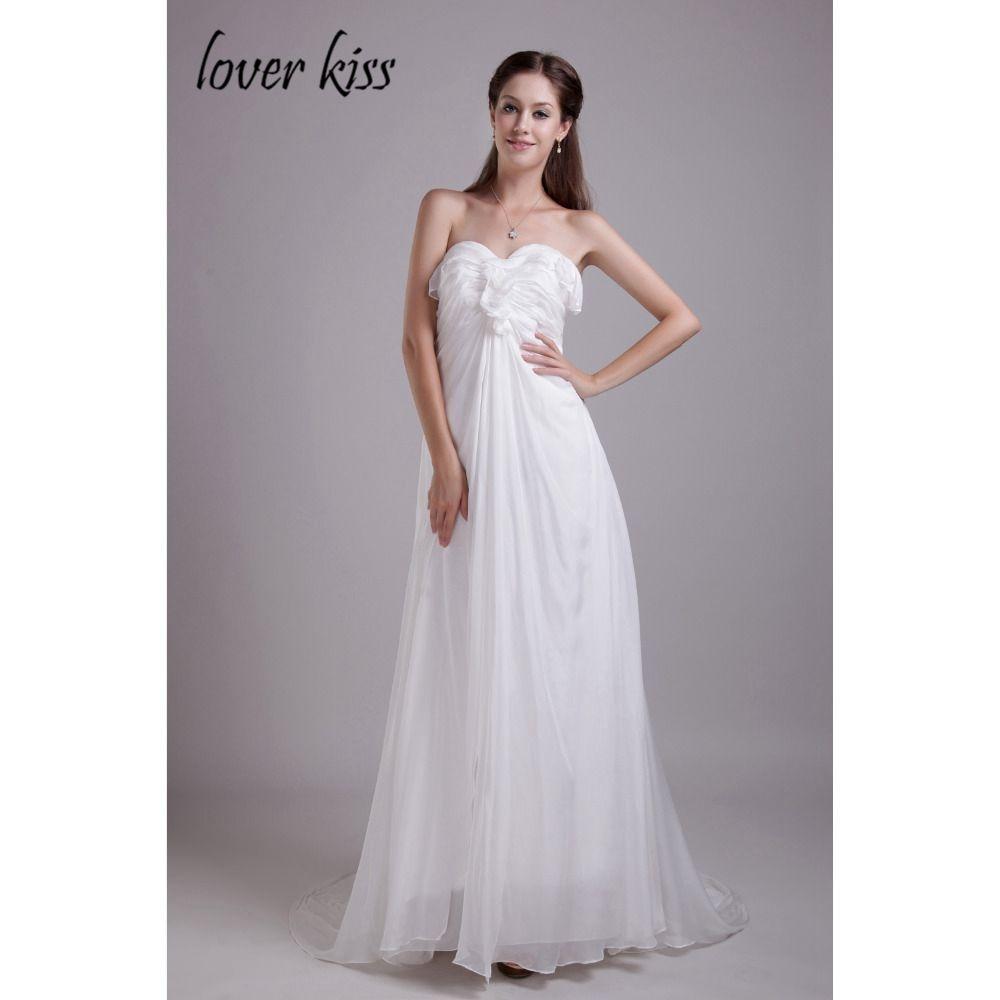 Liebhaber Kuss Weiß Vestido De Festa Elegante Schöne Lange Kleid