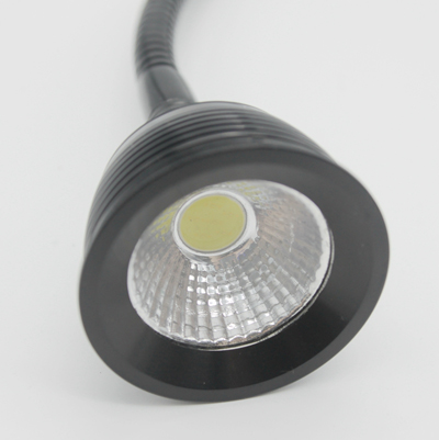 110V/220V 3W Led Flexible Pipe Clamp Desk Lamp