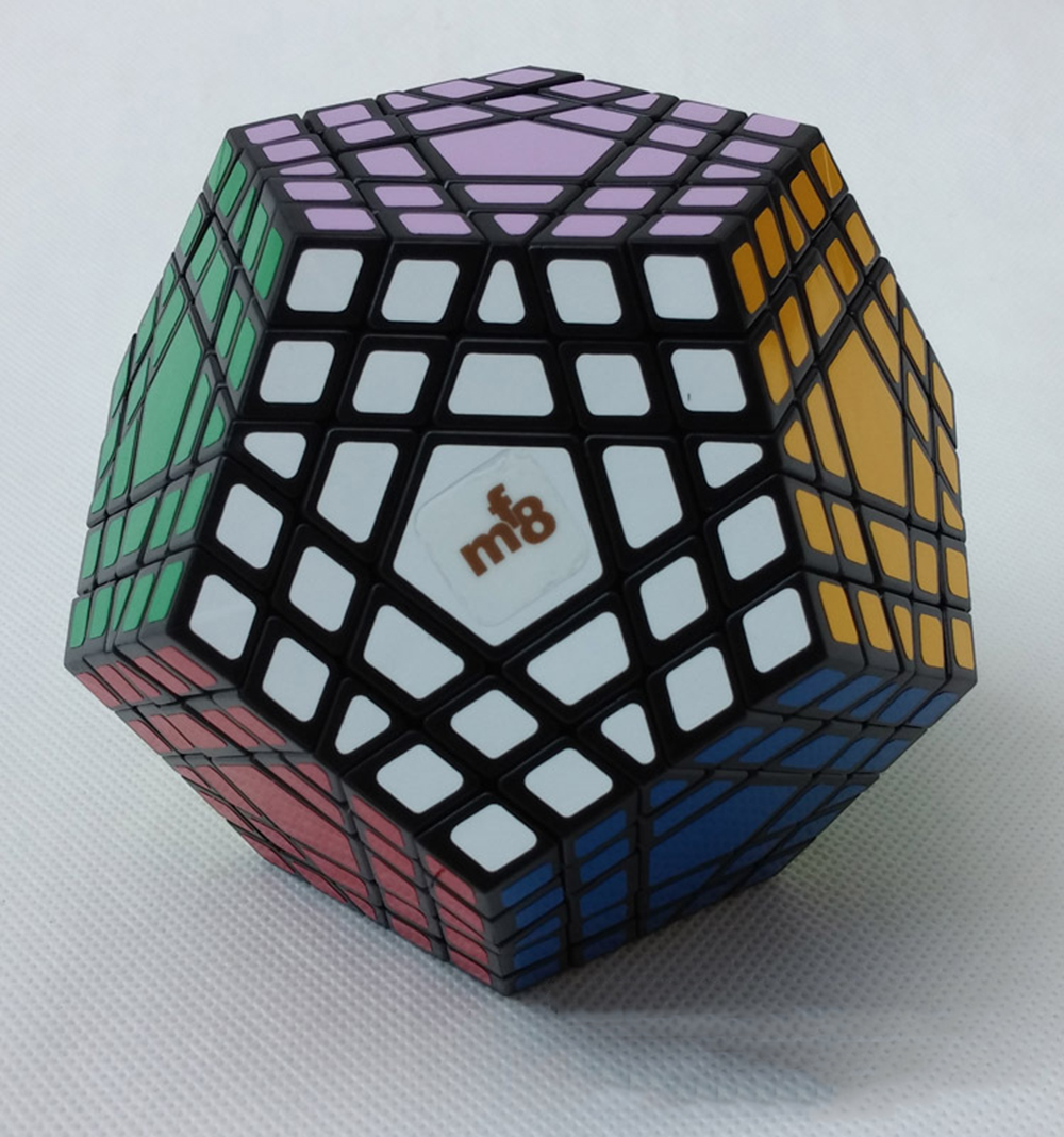 5*5*5 Black Professor Cube Competition Speed Magic Cube Puzzle Educational Toys for Children cube page 5