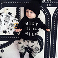 4 months to 3 years old baby boy clothes set T shirt and pants 2 piece newborn children costume roupa bebe menino BC3404