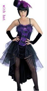 Salon girl sexy costume #1