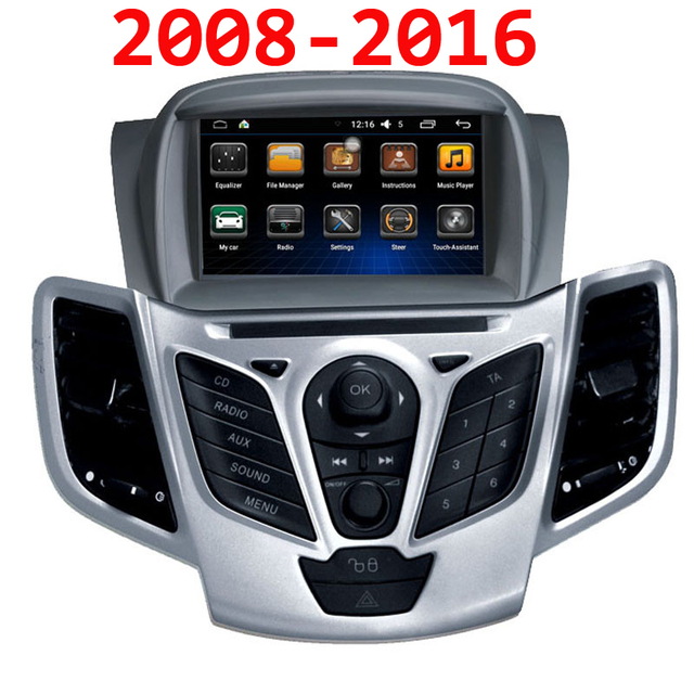 7 Inch Android 6 0 1g Ram 16g Rom Car Dvd Gps Navigation System For Ford Fiesta 2008 2009 2010 2017 2016 Wifi 3g