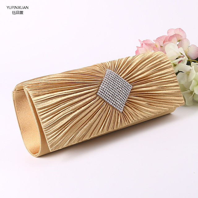 Yupinxuan Luxury Las Gold Clutch Bags For Weddings Women Sliver Por Evening Handbags Canada Small Bag