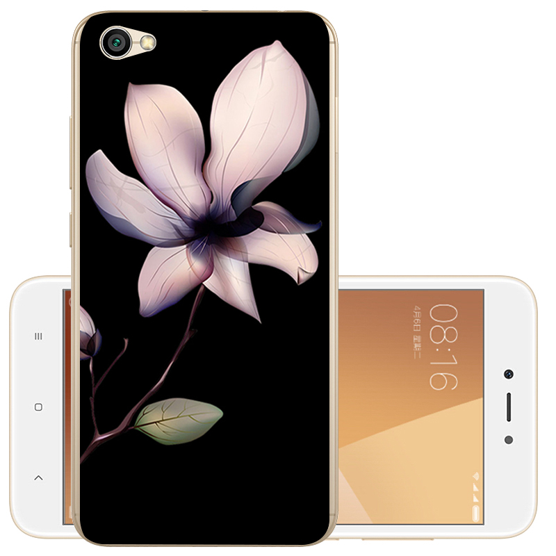 Animal Flower Painted Soft TPU Case Cover For Xiaomi Redmi