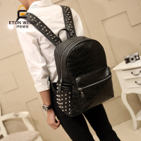 New 2014 Vintage Big Women And Men Backpack Skull Bag Student Backpack Women And Men Travel