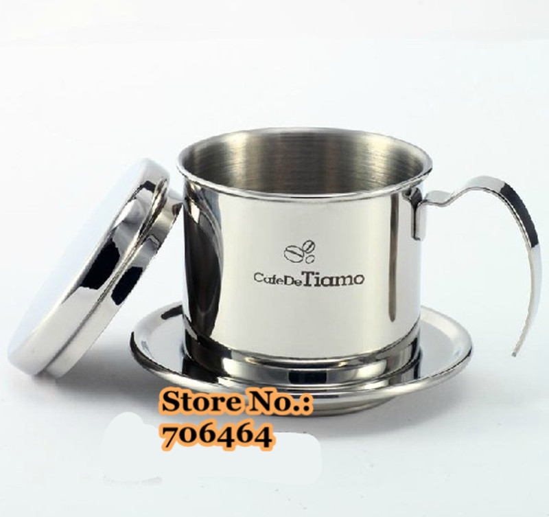 Vietnam Coffee Dripper Free Shipping Design Tiamo Drip Maker Manual Vietnamese Filter Pot In Makers From Home