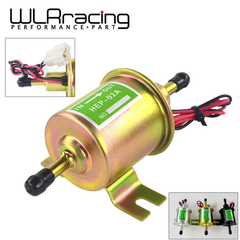Universal 12v Electric Fuel Pump Low Pressure Bolt Fixing Wire Electrical Diesel Petrol Hep 02a For Car Carburetor Motorcycle Atv In Pumps From Automobiles
