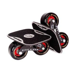 Drift Board Two PU Wheels Alum