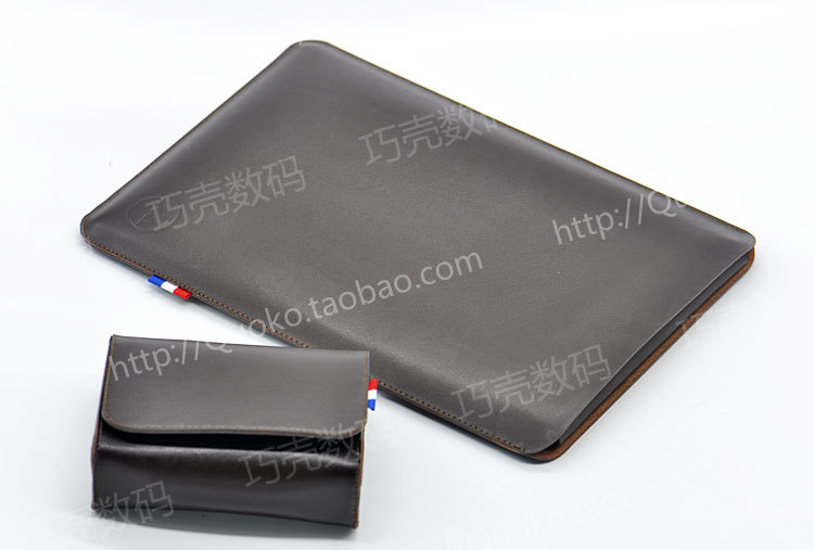 Arrival Hot selling ultra-thin super slim sleeve pouch cover, vintage microfiber stitch case For Dell New XPS 13D 9343 9350 9360