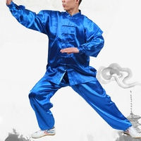 New Design Unisex Wushu Martial Arts Uniform Tai Chi Kung Fu Suits Taijiquan Practice Performance Wear